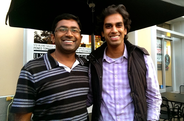 Praveen and I