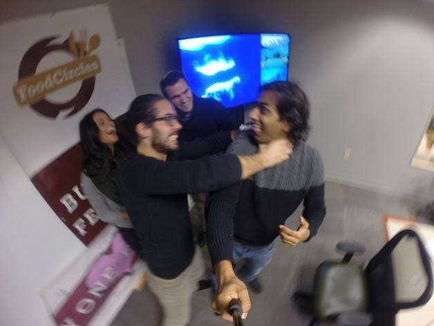 Adam chokes Jon